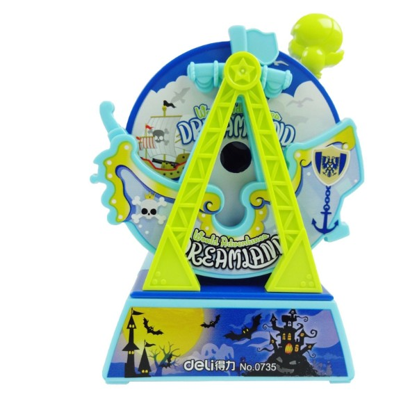 Mechanical Sharpener - Blue Ferris Wheel