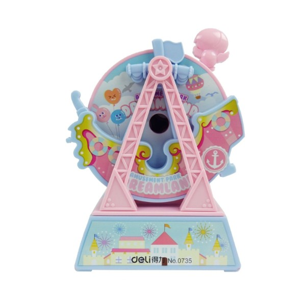 Mechanical Sharpener - Pink Ferris Wheel