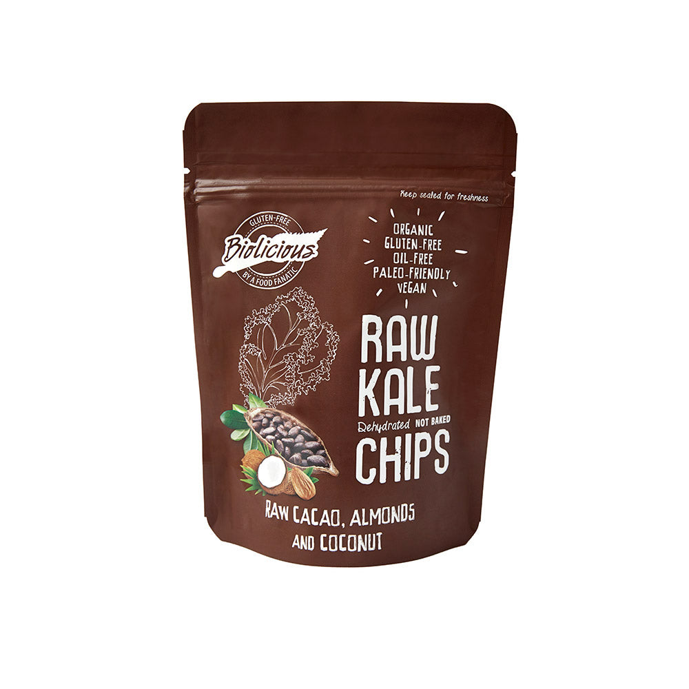 Raw Cacao Almonds and Coconut