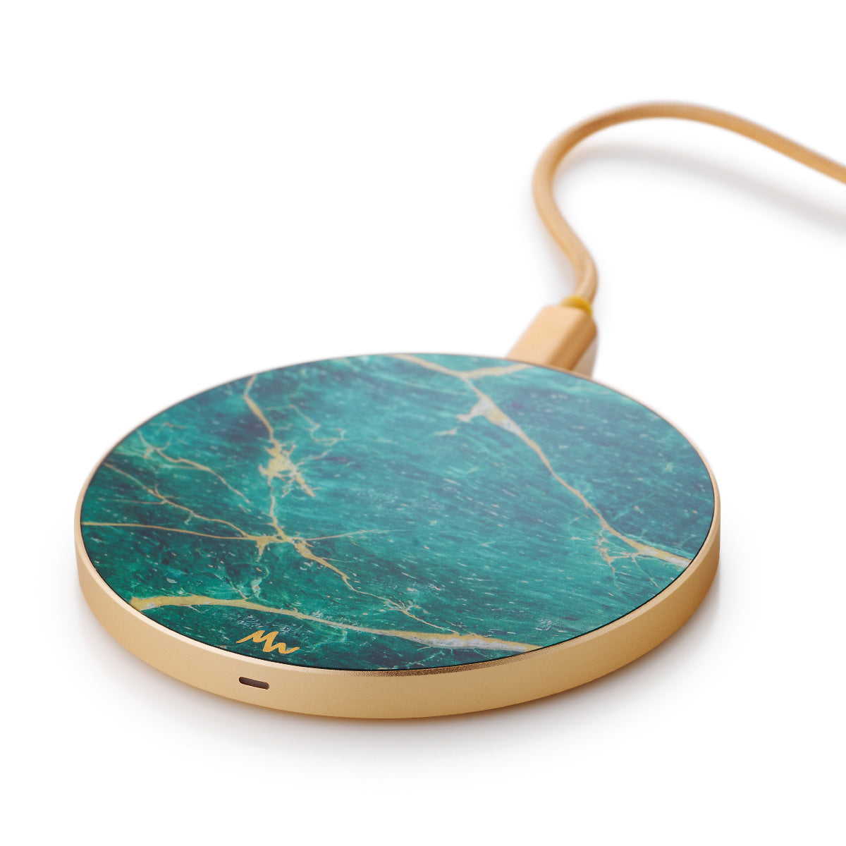Green Marble - Gold