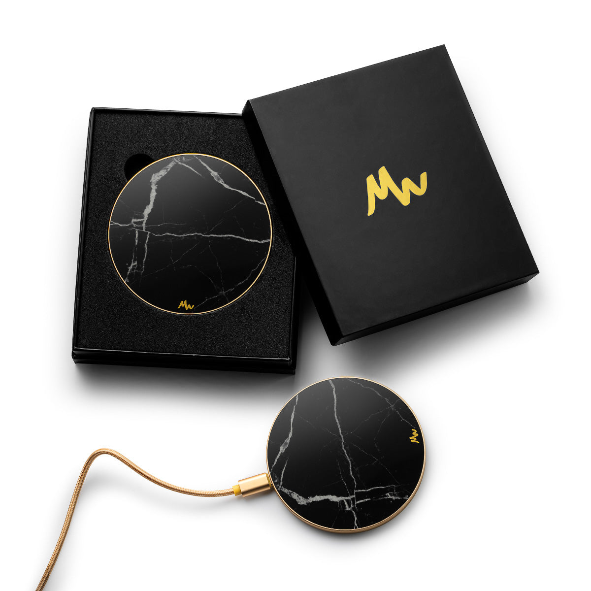 Black Marble - Gold