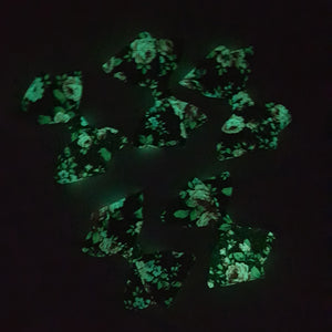 Nora - Glow In The Dark Bow Clips (Ready To Send)