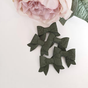 Michaela - Single Itty-bitty Bows For Clips or Headbands