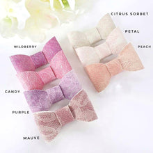Caley - Single Bows - 7 Colour Choices