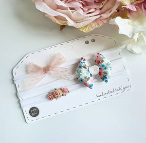 Serena Headband Trio Sets - 3 Colour Choices