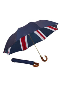 Folding James Ince Umbrellas - Union Jack Double Cover
