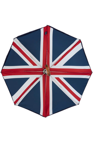 Folding James Ince Umbrella - Union Jack Double Cover