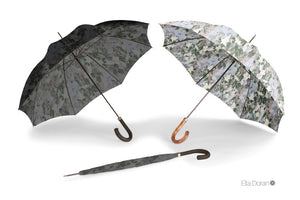 Ella Doran Camouflage dark - Gents City Slim Umbrella