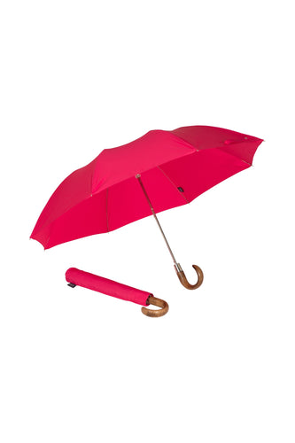 Folding Ince Umbrella - Cerise