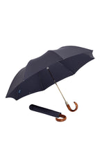 James Ince Gents Folding Umbrella - Navy