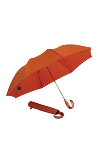 Pumpkin Orange James Ince Folding Umbrella