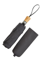 Folding AOAC Umbrella - Straight Beechwood Handle