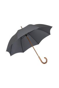 Gents Beechwood Ince Umbrella - Charcoal