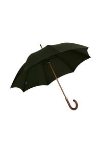 Gents Beechwood Ince Umbrella - Dark Forest