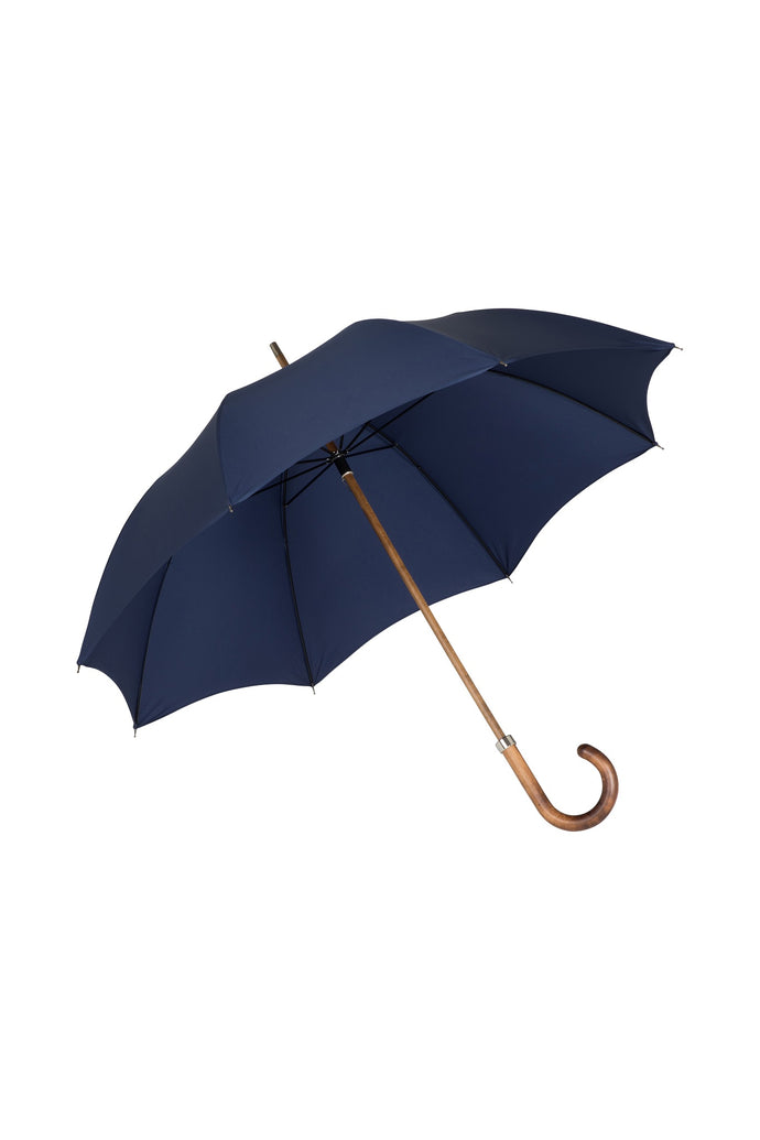Gents Beechwood Ince Umbrella - French Navy