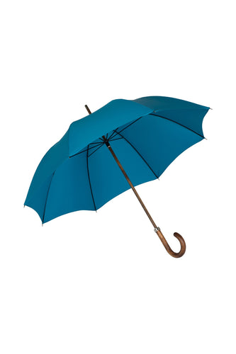Gents Beechwood Ince Umbrella - Kingfisher