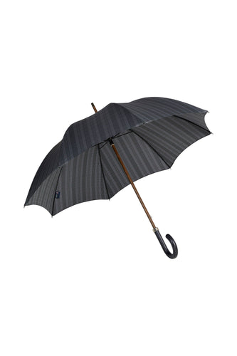 Gents Beechwood Ince Umbrella - Prince of Wales Plaid