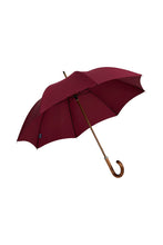 Gents Beechwood Ince Umbrella - Wine
