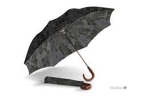 Ella Doran Camouflage dark - Folding Umbrella