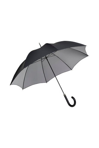 Gents City Slim Ince Umbrella - double sided Black/silver