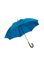 Gents City Slim Ince Umbrellas with a scorched and polished Maple Italian handle - Kingfisher