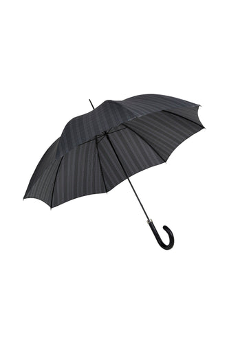 Gents City Slim Ince Umbrella - Prince of Wales plaid