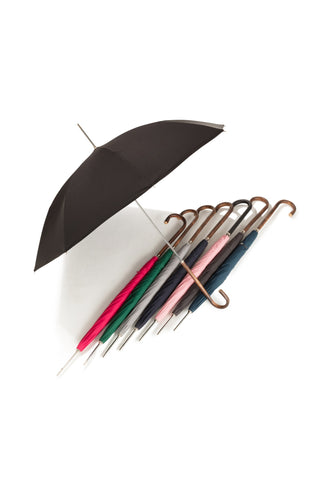 Ladies City Slim Ince Umbrellas with an Italian Chestnut Handle - Classic colours