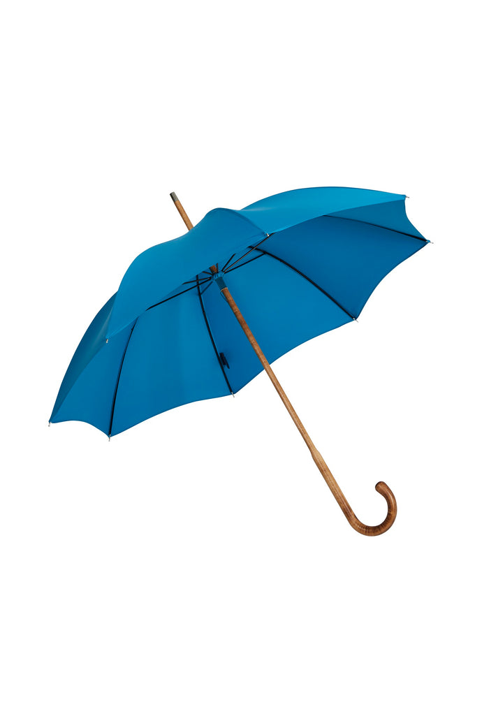 Ladies Maple Solid Stick Ince Umbrellas - Kingfisher