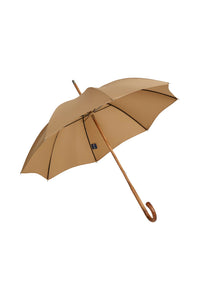 Ladies Maple Solid Stick Ince Umbrellas - Sand