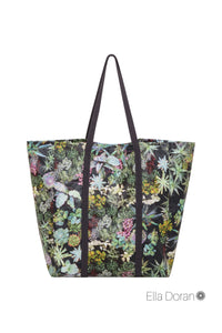 Ella Doran market bag in Surreal Succulent design