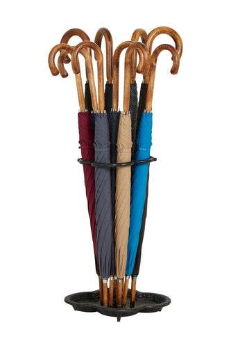 Gents Solid Hickory Stick Ince Umbrellas - Classic Colours