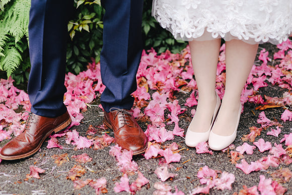 les festives chaussures mariage
