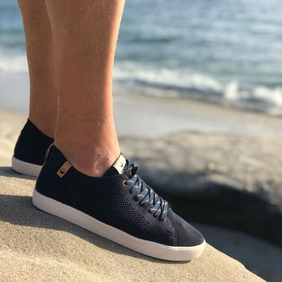 Baskets écologiques Saola Shoes Cannon Knit Navy