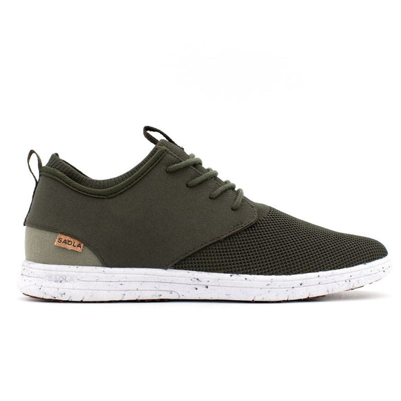 Baskets écologiques Saola Shoes Semnoz Dark Olive