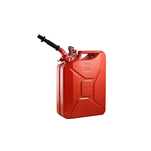 Wavian Authentic NATO Jerry Fuel Can (Red - 20L)