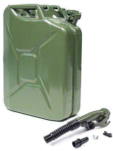 VALPRO Authentic NATO Jerry Can with Flexible Spout (Olive - 20L)