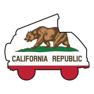 Westy California Flag