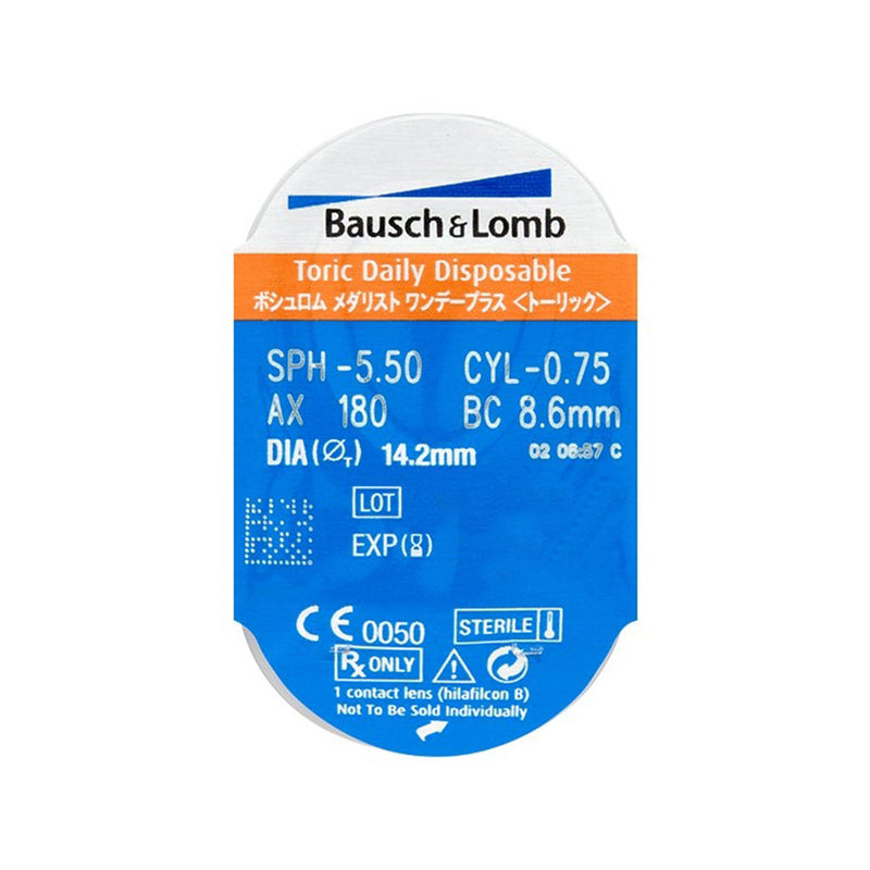 SofLens Daily Disposable Toric (30 lentile) - OchelariDirect