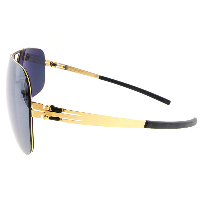 ic! Berlin F10 Wannsee Sun-Gold Black-Mirrored - OchelariDirect