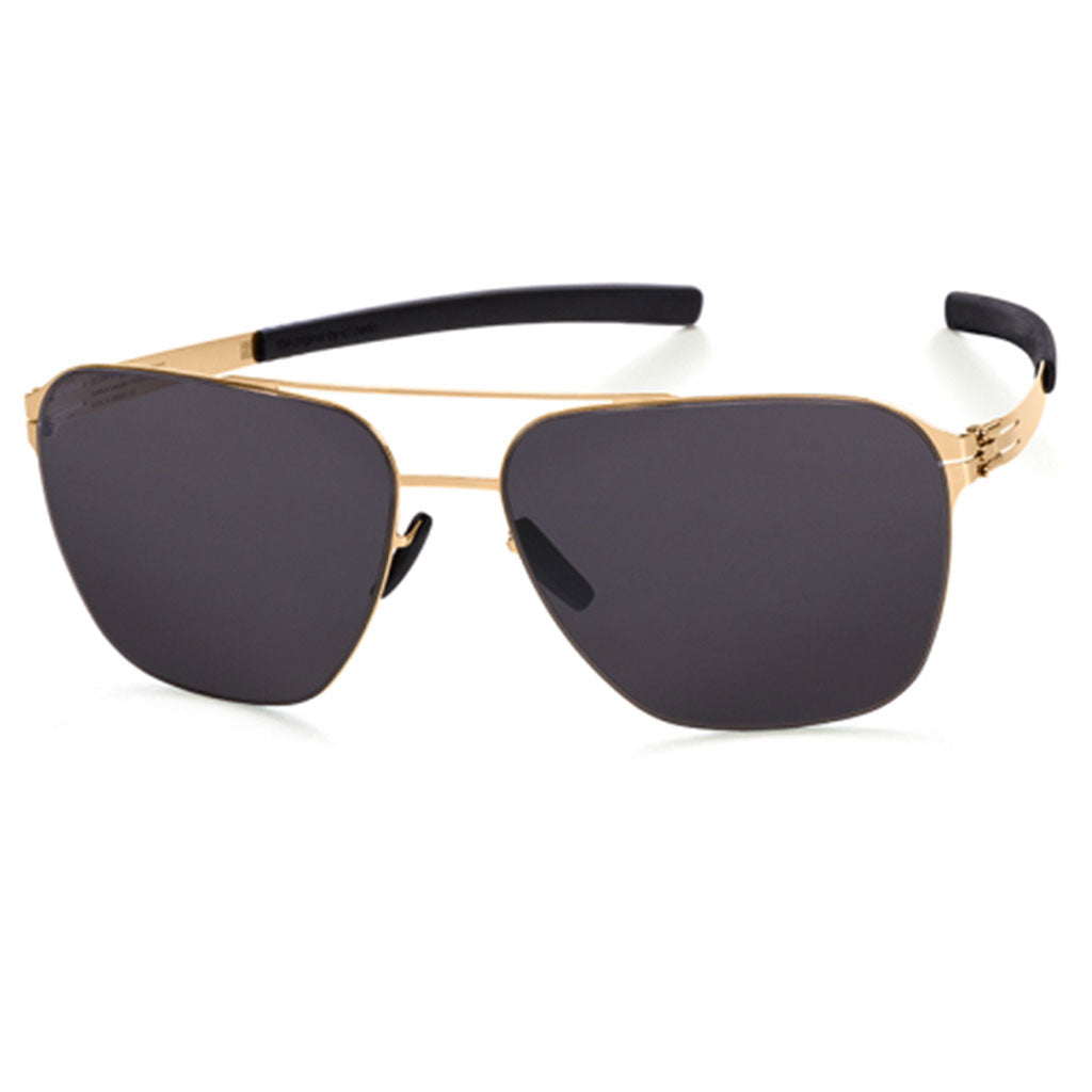 Ochelari de Soare-ic! Berlin Jonathan I Rose-Gold-Black-OchelariDirect