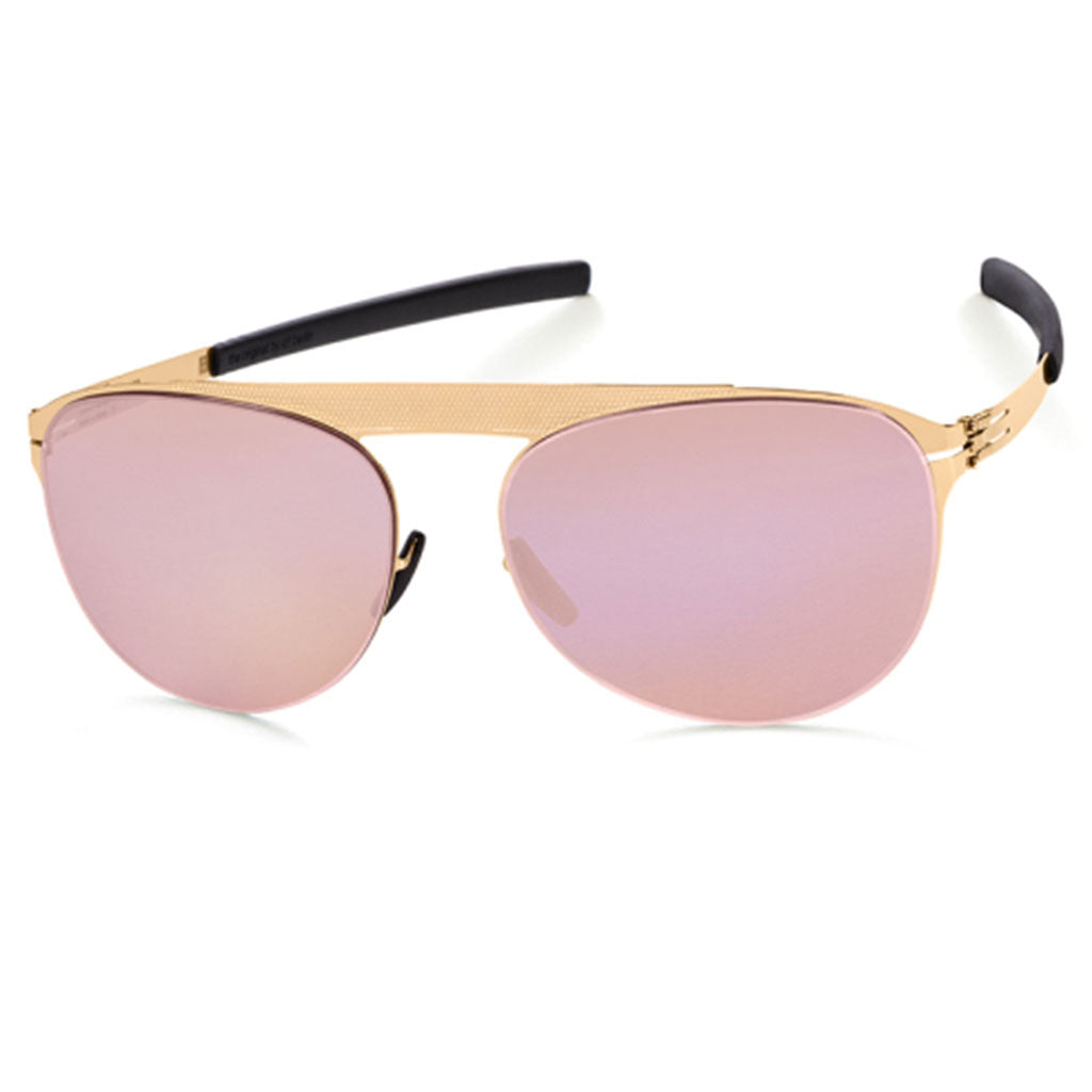 Ochelari de Soare-ic! Berlin Meike B. Rose-Gold Mirrored-OchelariDirect