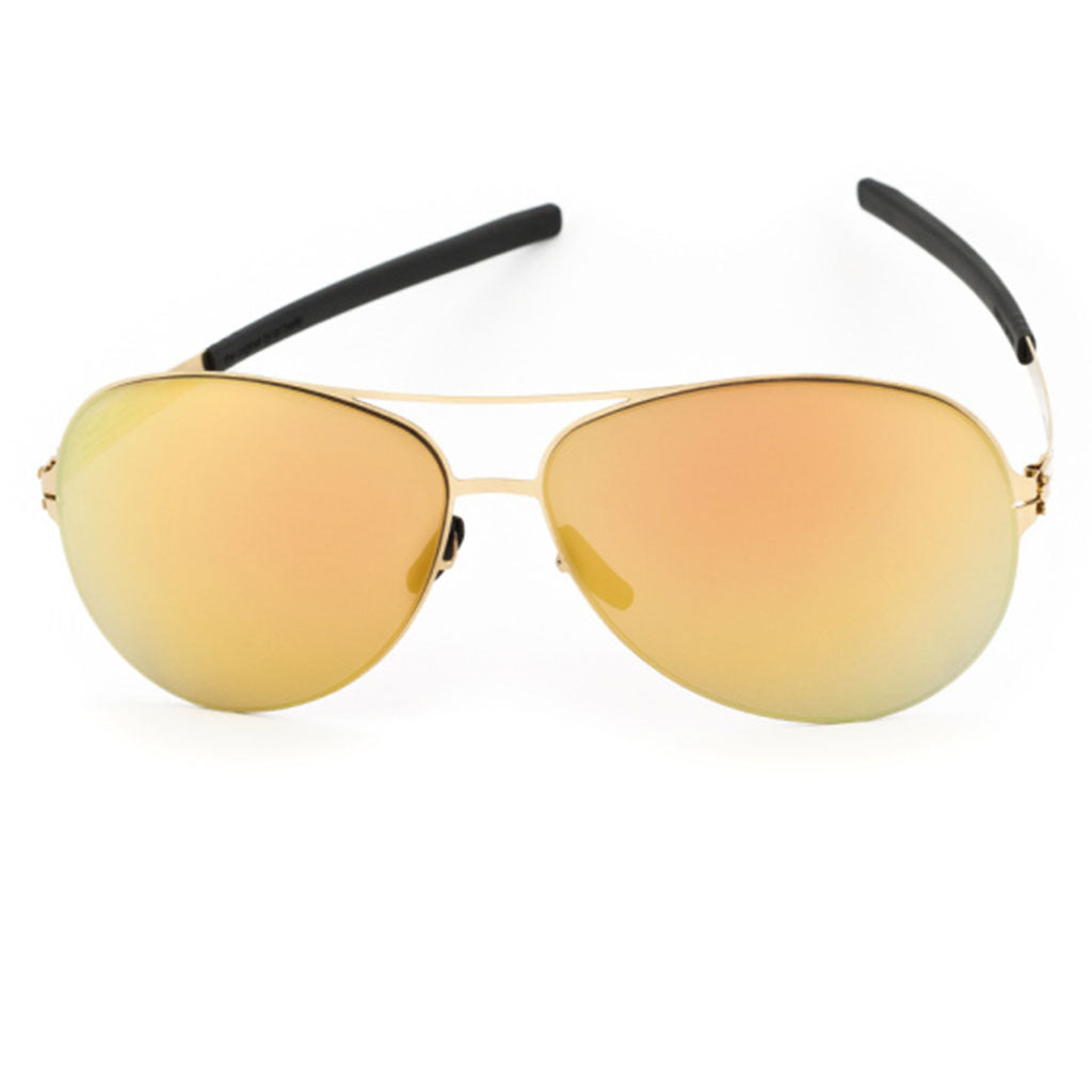 Ochelari de Soare-ic! Berlin Raf S. Sun Gold-Gold Mirrored-OchelariDirect