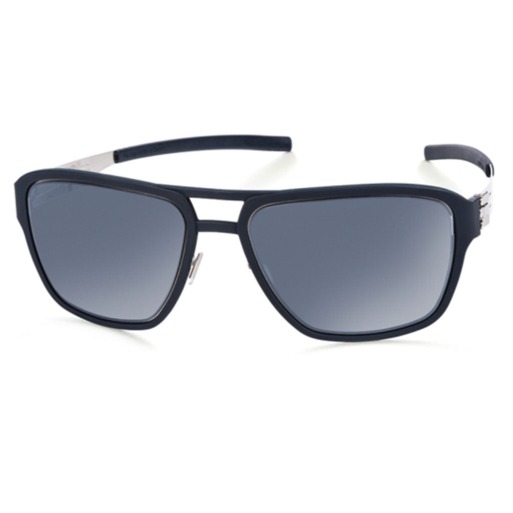 ic! Berlin Wipeout Chrome Marine-Blue Polarized Mirrored - OchelariDirect