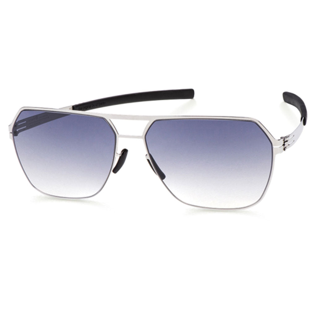 Ochelari de Soare-ic! berlin Boris N Chrome-Black-Clear-OchelariDirect