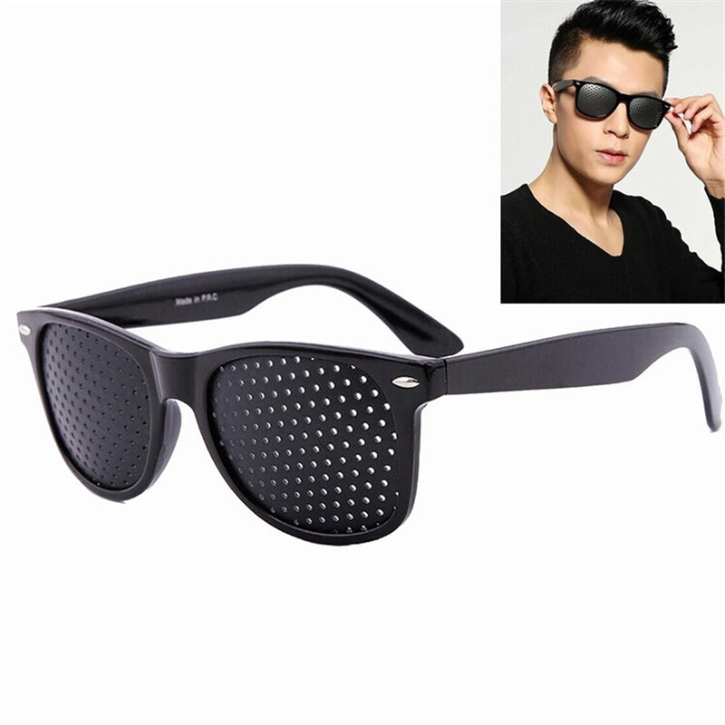 Pinhole Glasses Anti-fatigue Eye Protection