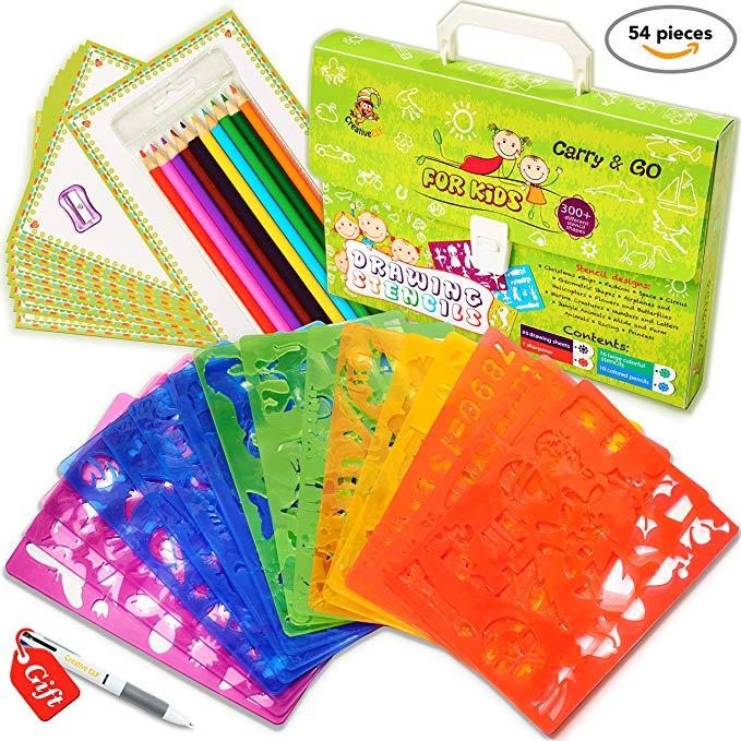 Drawing Stencils Set for Kids $26.62