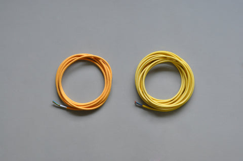 textile coated cable 3 meters