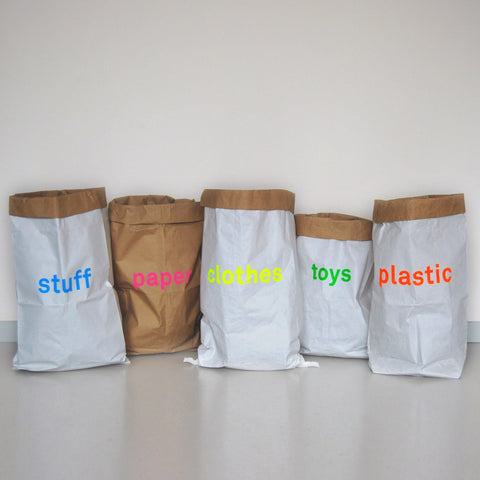 paper bag SET of 5 / the ORIGINAL