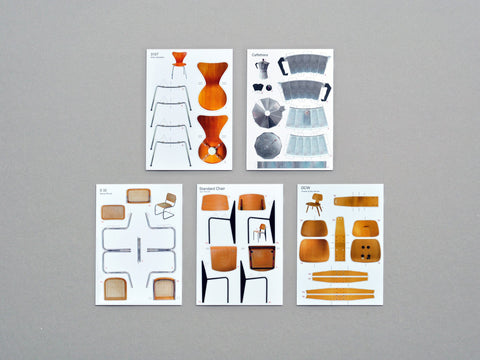 postcard set II / classical furniture