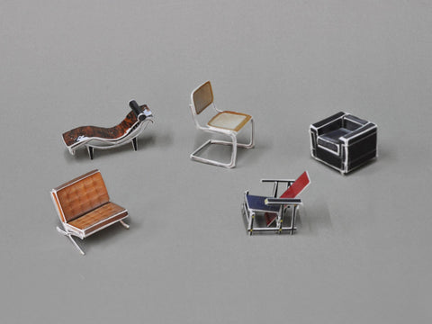postcard set III / classical furniture